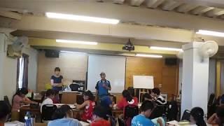 108族語學習營日繁雄長老致詞