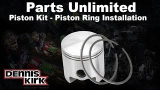 9. How to Install Snowmobile Piston Rings: Parts Unlmited Piston Kits