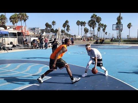 "The Professor vs Pro Competition at Venice Beach.. DESTROYS 6'3"" hooper"