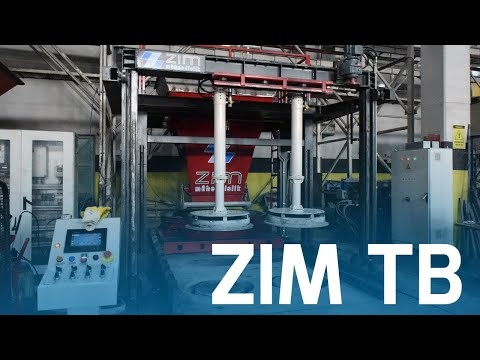 ZIM TB - Full Automatic Telescopic Manhole Machine