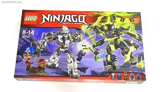 Built in 60 seconds: LEGO Ninjago Titan Mech Battle 70737