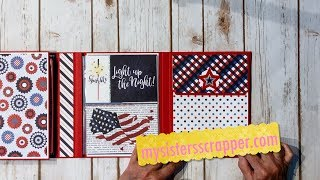Hello everyone! Today I want to share a Folio style mini album that I created with the fabulous Photoplay Live Free 12x12 collection kit. Thanks for watching! Here is a link to a tutorial that Tamara did on this style of Folio https://youtu.be/nDy9jfoLSOM