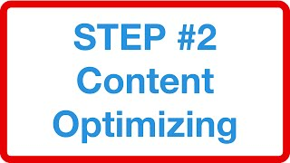 Creating (or changing) content that is about the keywords because Google ranks relevant content and prospects want relevant content resulting in high conversions rates…more info: http://tytseo.com/free-training#content_optimization