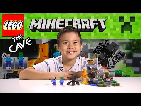 LEGO - Click here to see more Minecraft videos: https://www.youtube.com/watch?v=h8Epwf_dbLQ&list=PL7TV22RuQ4DY2iqMAPPCJdeTxxMPvDNls LEGO MINECRAFT minifigure-scale sets: THE FIRST ...