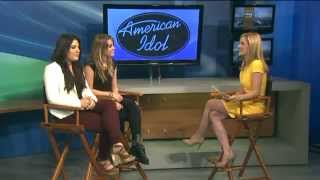 Kree Harrison and Angie Miller on Q13 Fox News in Seattle