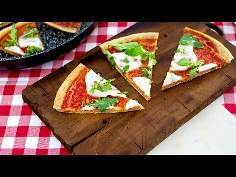 pancake pizza - ricetta velocissima in padella