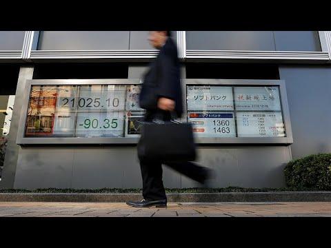 Nευρικότητα στα ασιατικά χρηματιστήρια