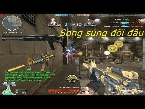 [ Bình Luận CF ] M4A1-S Gold Phoenix, XM1014 WEM - TIền Zombie v4 - Thời lượng: 12:29.
