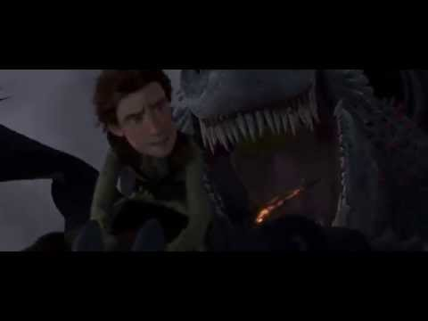 How To Train Your Dragon - Toothless VS Red Death (Full Battle Scene)
