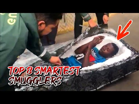 TOP 8 SMARTEST SMUGGLERS OF ALL TIME | 8 PINAKA MATALINONG SUMMUGLERS | SMARTEST SMUGGLERS | iJUANTV