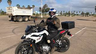 6. 2019 BMW F750 GS | Motorcycle Review & Ride ~ MotoJitsu