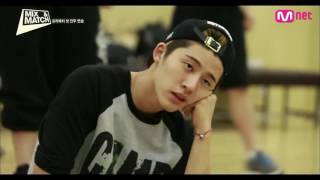 KIM HANBIN - CHARISMA LEADER IN PRACTICE ROOM #HANBIN #WIN #MIXandMATCH