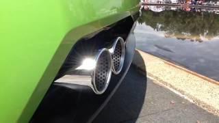 Lamborghini Gallardo LP550 sound at 2014 Auto Itialia Canberra.