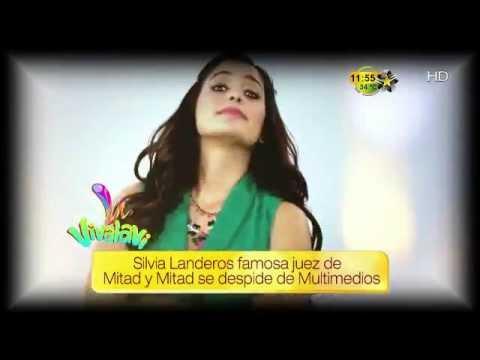 LANDEROS - Silvia Landeros famosa juez de Mitad y Mitad se despide de Multimedios.
