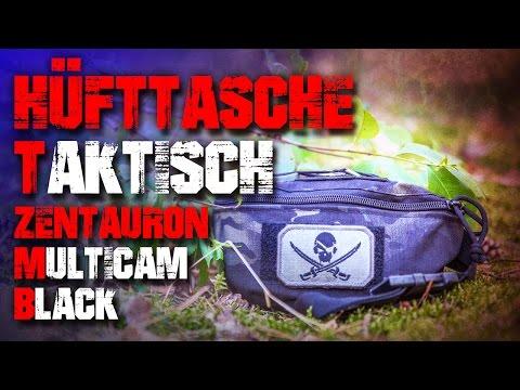 Taktische Hüfttasche/Bauchtasche EDC Zentauron - Review Test Outdoortest (Deutsch/German)