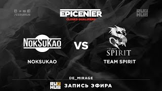 NokSuKao vs Spirit, game 1