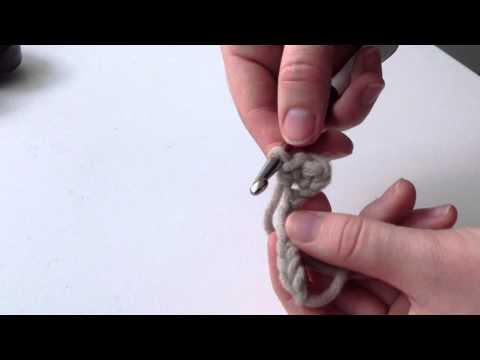 Anlieitung: Mützenbund selber stricken – Anfang einer Mütze häkeln
