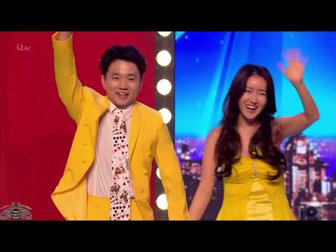 Britain's Got Talent 2018 Ellie And Jeki Quickest Quick Change Full Audition S12e04