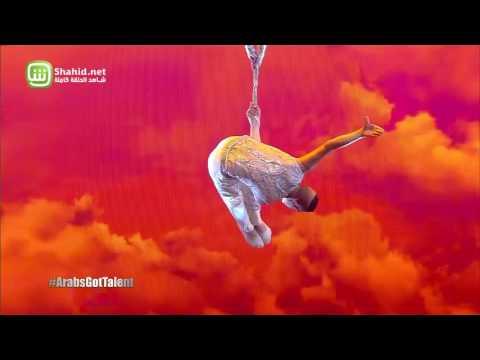 أيمن وكسينيا يمزجان الرومانسية بالخطورة في نصف نهائيات Arabs Got Talent