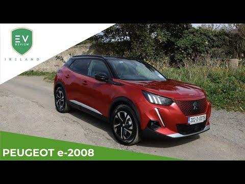 PEUGEOT e-2008 SUV Full Review - 4K