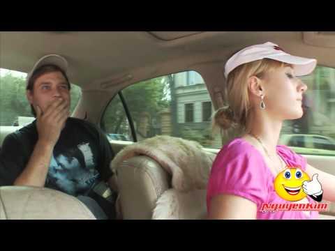 Tình huống hài hước - KHi Cô gái ngực khủng lái taxi