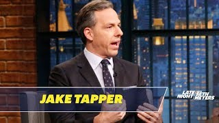 Video Jake Tapper Talks About His Stephen Miller Interview MP3, 3GP, MP4, WEBM, AVI, FLV Juli 2018