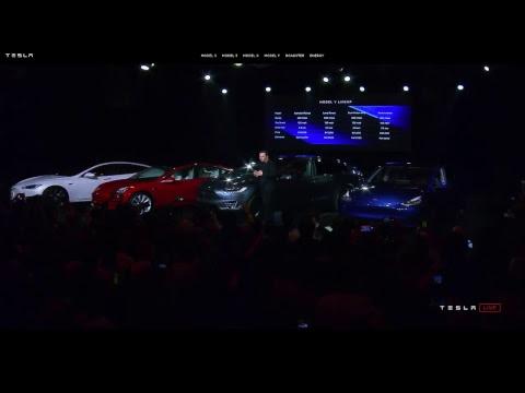 Digital Trends Live - Special Event - Tesla Model Y Unveiling