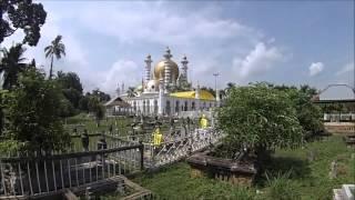 Kuala Kangsar Malaysia  city photo : Malaysia 2015 - Kuala Kangsar, Perak Ubudiah Mosque Royal Cemetery
