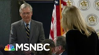 Video Mitch McConnell and Republicans Experience Eruptions at Town Halls | All In | MSNBC MP3, 3GP, MP4, WEBM, AVI, FLV Juli 2018