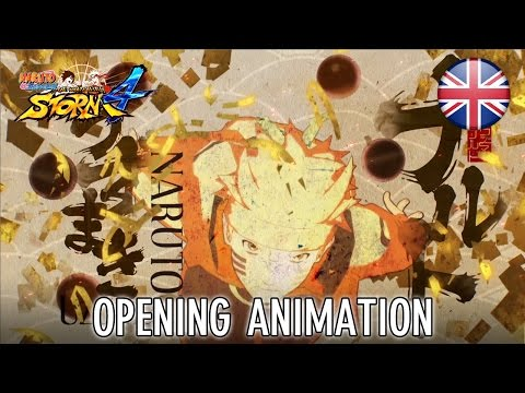 Naruto SUN Storm 4 – PS4/XB1/Steam – Opening Animation