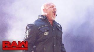 Así fue el espectacular regreso de Goldberg a WWE [VIDEOS]