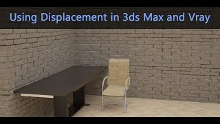 In this video we will see how to use the Vray displacement mod as well as fixing the issues that come up with using it.