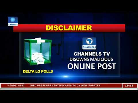 Channels TV Disclaims Malicious Online Post