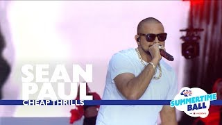 Video Sean Paul - 'Cheap Thrills'  (Live At Capital's Summertime Ball 2017) MP3, 3GP, MP4, WEBM, AVI, FLV Januari 2018