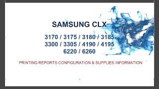 Pentru crearea programului de resoftare al imprimantelor Samsung CLX-3300/3305  CLX-3170/3175 CLX-3180/3185 CLX-4190/4195  CLX-6220 CLX-6260este  necesar sa cunoastem seria imprimantei (SN) ,  seria CRUM si versiunea de firmware. Aceste informatii pot fi aflate prin imprimarea a 2 rapoarte  : Configuration  & Supplies Information . Informatii detaliate resoftare CLX-3170/3175 http://www.ereset.com/samsung-clx/resoftare-resetare-reset-samsung-clx-3170-3175-fn-fw-w-n-clt-409/CLX-3180/3185 http://www.ereset.com/resoftare-resetare-samsung-clx-3180-clx-3185/CLX-3300/3305 http://www.ereset.com/samsung-clx/resoftare-fix-firmware-reset-clx-3305-clx-3305w-clx-3305fn-clx-3305fw/CLX-4190/4195  http://www.ereset.com/samsung-clx/resoftare-resetare-reset-clx-4195-fn-fw-cip-clt-504/CLX-6220  http://www.ereset.com/samsung-clx/resoftare-resetare-reset-samsung-clx-6220-fx-cip-clt-5082/CLX-6260 http://www.ereset.com/samsung-clx/resoftare-resetare-reset-clx-6260-fr-nd-fd-fw/--------------------------------------------------------------------------------------EN      To create fix firmware reset for printers  Samsung CLX-3300/3305  CLX-3170/3175CLX-3180/3185 CLX-4190/4195 CLX-6220 CLX-6260is necessary to know series printer (Serial Number), CRUM series and firmware version. This information can be found by printing the two reports of the printer: - Configuration     - Supplies Information. Details Fix firmware reset  (using printer without chip)CLX-3170/3175  http://www.ereset.com/samsung-clx/fix-firmware-reset-clx-3170-clx-3175-n-w-fn-fw-clt-409/CLX-3180/3185  http://www.ereset.com/fix-firmware-reset-clx-3180-clx-3185/CLX-3300/3305   http://www.ereset.com/samsung-clx/fix-firmware-reset-clx-3305-clx-3305w-clx-3305fn-clx-3305fw/CLX-4190/4195   http://www.ereset.com/samsung-clx/fix-firmware-reset-clx-4195-fn-fw-chip-clt-504-cartridge/CLX-6220    http://www.ereset.com/samsung-clx/fix-firmware-reset-clx-6220-fx-cip-clt-5082/CLX-6260   http://www.ereset.com/samsung-clx/fix-firmware-reset-clx