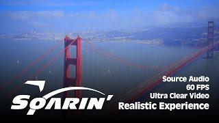Video [BEST] Soarin' Over California (New, Realistic Experience) - Source Audio / Ultra Clear Video MP3, 3GP, MP4, WEBM, AVI, FLV Oktober 2018