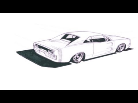 0 How To Draw Cars Like Chip Foose