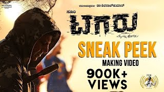 Tagaru - Sneak Peek (Making Video) | Shiva Rajkumar, Dhananjay, Manvitha | Charanraj
