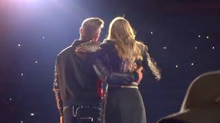 Taylor Swift & Robbie Williams - Angels (Reputation World Tour London)
