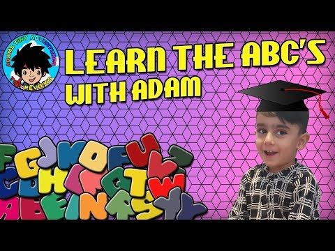 Learn the ABC'S With Adam, Play-Doh Fun!