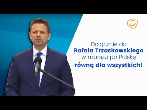 Prezydent Warszawy Rafał Trzaskowski: Czas powiedzieć dość władzy, która mówi, że jedni są lepsi, a drudzy są gorsi!