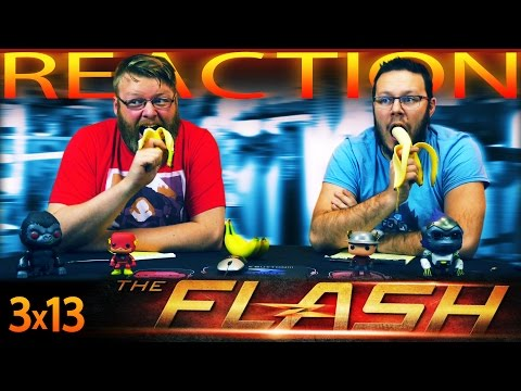 "The Flash 3x13 REACTION!! ""Attack On Gorilla City"""