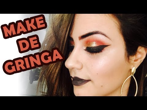 Maquiagem -  Make de Gringa / Makeup tutorial