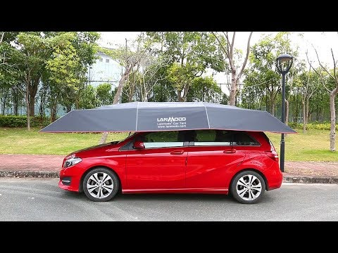 Lanmodo Pro Four-season Automatic Car tent ---4.8M Length to Fully Cover Your Car