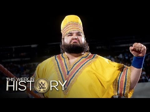 One Man Gang Is Reborn As Akeem The African Dream: This Week In WWE History, Sept. 29, 2016
