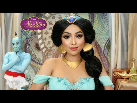Disney's Princess Jasmine Makeup Transformation