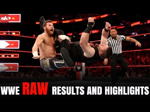 WWE Raw 9 April 2018 Results And Highlights | Bobby Lashley On RAW!! | Sportskeeda Hindi