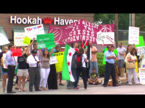 Obama speech attracts supporters and protestors in KC