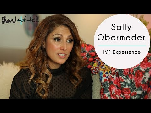 Sally Obermeder: On Her IVF Experience With Her First Daughter