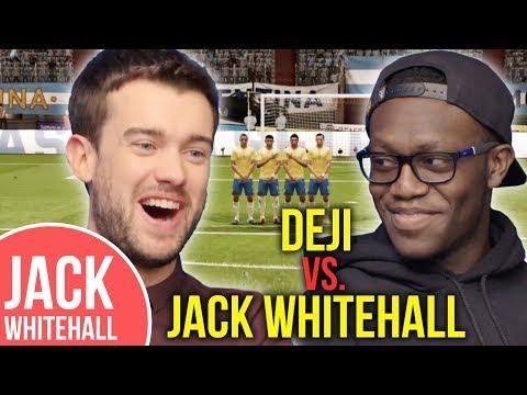 Jack Whitehall vs. Deji   FIFA & Twitter Takeover!! видео